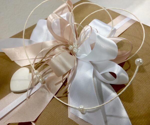 Pacchetto regalo artigianale - rosa
