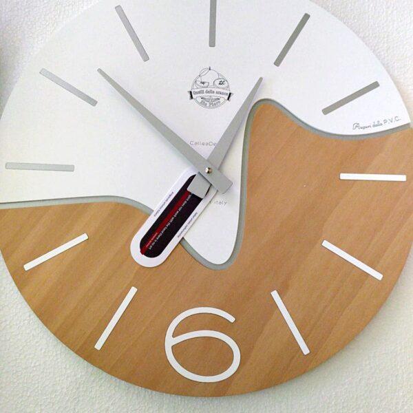 Orologio da parete con incisione personalizzata